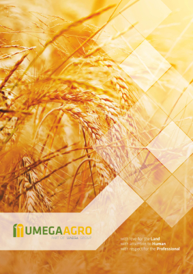 UMEGA AGRO brochure cover